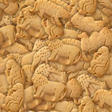 Animal Crackers Seamless Textu...