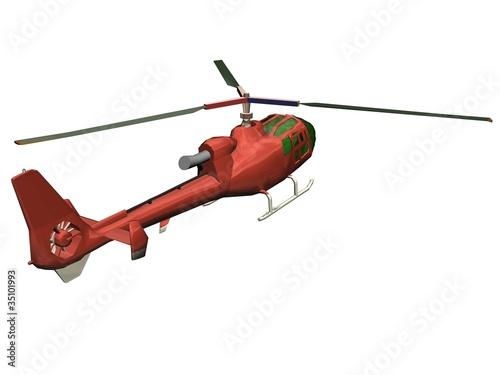 Foto op Aluminium Vliegtuig Helicopter