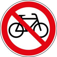 Verbotsschild Fahrräder Verbo...