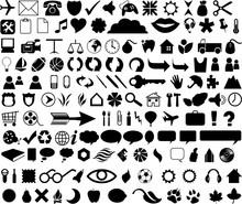 Logos, Icons, Black