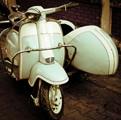 Fototapeta scooter