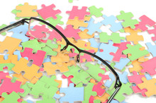 Eye Glasses And Puzzle