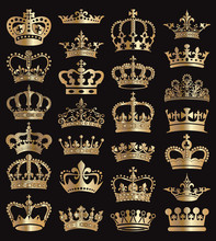 Crowns Vector Collection