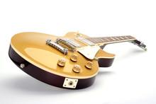 E- Gitarre LP Goldtop