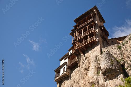 Fotografía  Casas colgadas. Cuenca
