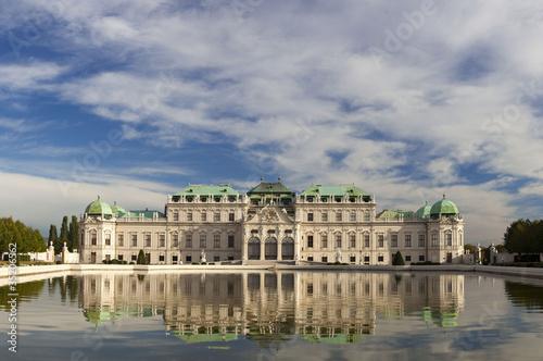Fotografie, Obraz  Schloss Belvedere, Wien