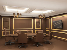 Conference Table In Royal Offi...