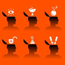 Icons Of Human Head