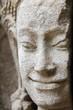 volto scolpito nella pietra ad angkor
