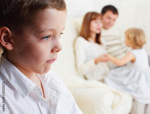 Children's jealousy Fototapeta