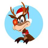 Christmas reindeer - 35232529