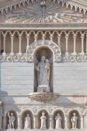 Fényképezés  Monastery of Saint Chiara: details