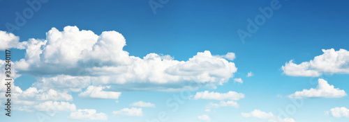 Photo blue sky and clouds