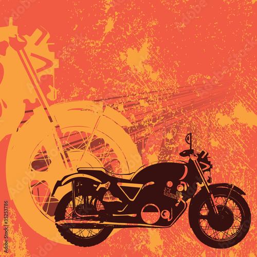 motocykl-nieczysty-tlo-wektor