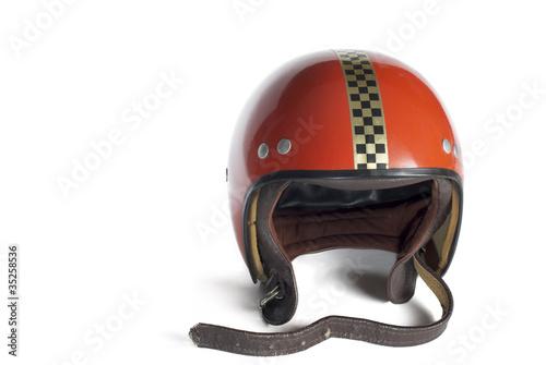 Deurstickers Fiets Buggy Helm 70´s