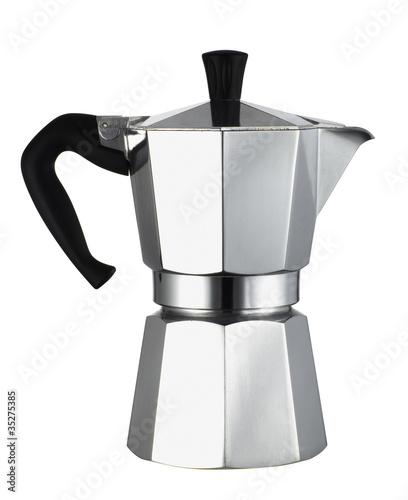 Leinwand Poster Espressokanne Machineta