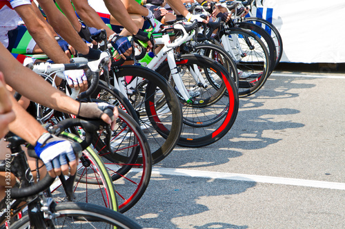Foto op Plexiglas Fietsen ciclismo