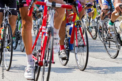 Deurstickers Fietsen ciclismo