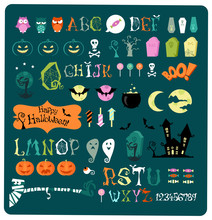 Halloween Elements For Kids Pa...