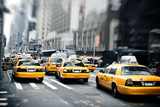Fototapeta Nowy Jork - New York taxis