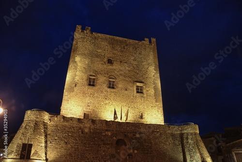 Castello Normanno di Adrano, Sicilia Fototapet
