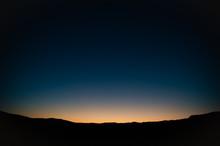 太陽が沈む直前