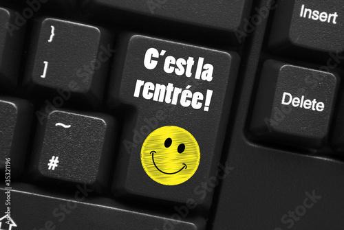 """Fotografía  """"C'EST LA RENTREE!"""" (école rentrée des classes souriez sourire)"""