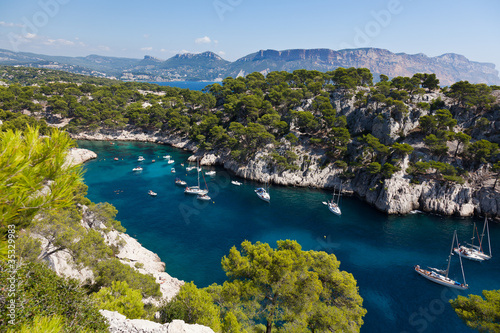Calanques of Port Pin in Cassis
