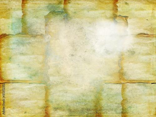 Vecchio foglio di carta - texture Canvas Print