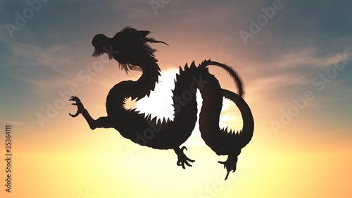 Poster Draken ドラゴン