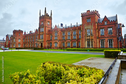 Fotografie, Obraz Queen's University of Belfast
