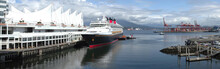 Panoramic View Of A Cruise Shi...