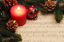 Christmas Still Life With Musi...