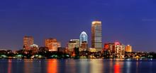 Boston City Urban Skyscrapers
