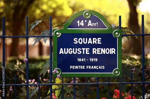 Photo  Square Auguste Renoir