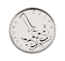 Czech One-crown Coin