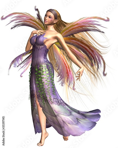La pose en embrasure Fées, elfes Fairy Summer Spirit