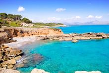 Alcudia In Mallorca La Victoria Turquoise Beach