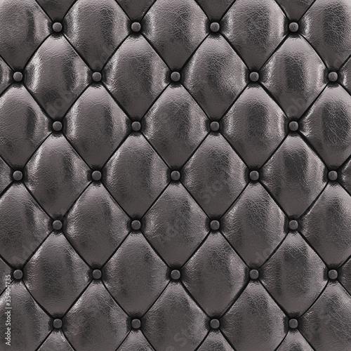 czarny-rzemienny-tapicerowanie-wzor-3d-ilustracja