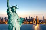 Fototapeta Nowy Jork - New York statue de la Liberté