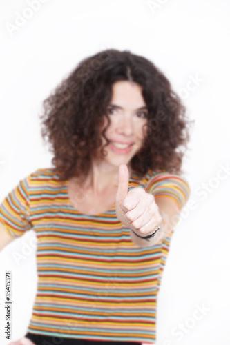 Foto  Erfolgreiche Geschäftsfrau