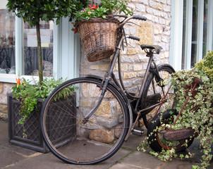Fototapeta na wymiar Antique bike