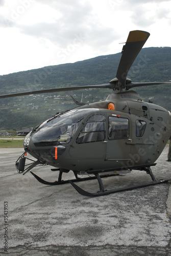 Türaufkleber Hubschrauber spéctacle aéronautique