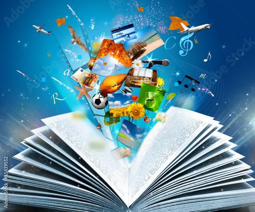 Plakaty do biblioteki fantasy-book