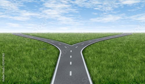 Fotografia Cross roads horizon
