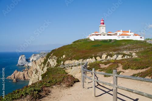 Foto auf AluDibond Cape Roca Lighthouse