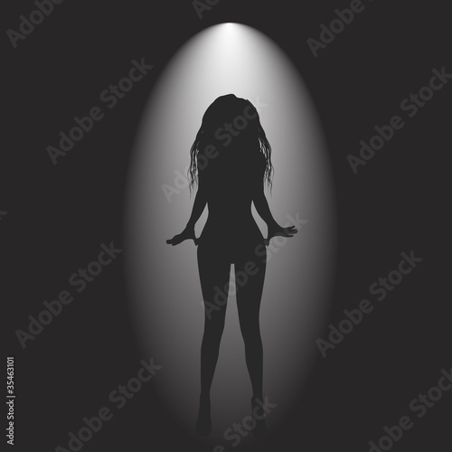 background black witk women - 35463101
