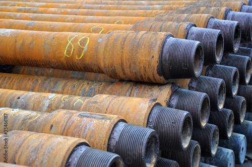 Numbered drilling pips