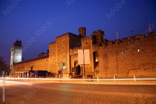 Staande foto Marokko Cardiff Castle