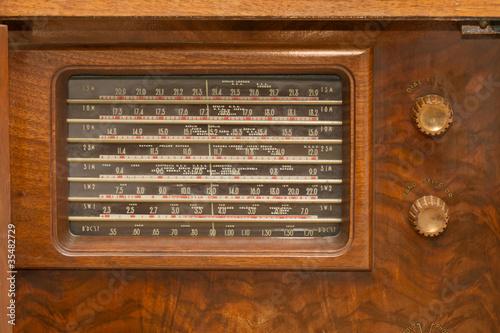 Fotografia  Vintage 1930's Radio